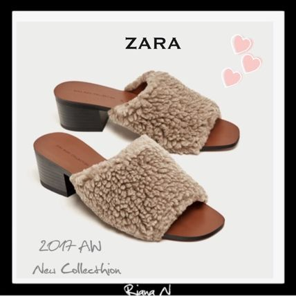 17 winter fluffy fur sandals
