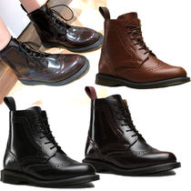 Dr Martens Open Toe Casual Style Plain Leather Ankle & Booties Boots