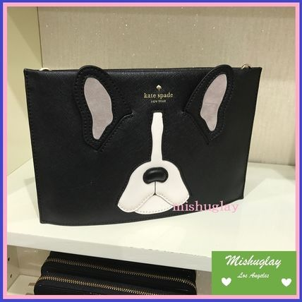 kate spade new york 2WAY Leather Clutches