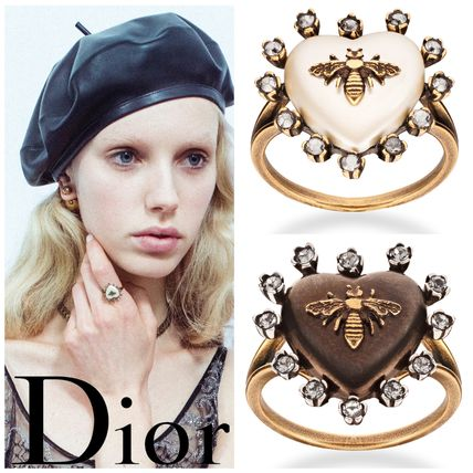 AW 2017 Dior BlueBohemiennne BEE x heart ring