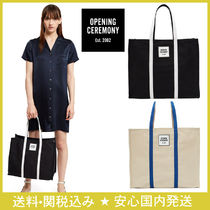 OPENING CEREMONY Cambus Plain Totes