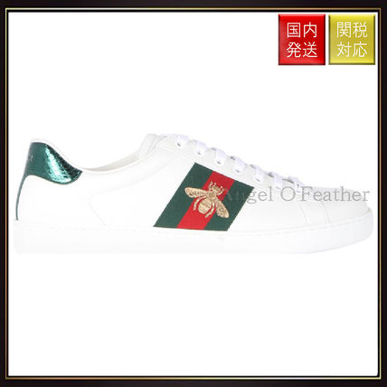 Ace Embroidered Low Top Sneakers sneakers