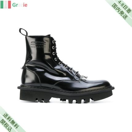 Wear right lace up boot