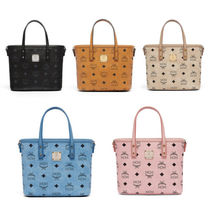 MCM Street Style Leather Handbags