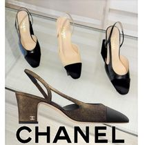 CHANEL CHANEL Classic sling pumps COCO