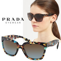 PRADA Unisex Square Sunglasses