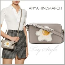Anya Hindmarch Casual Style Leather Shoulder Bags