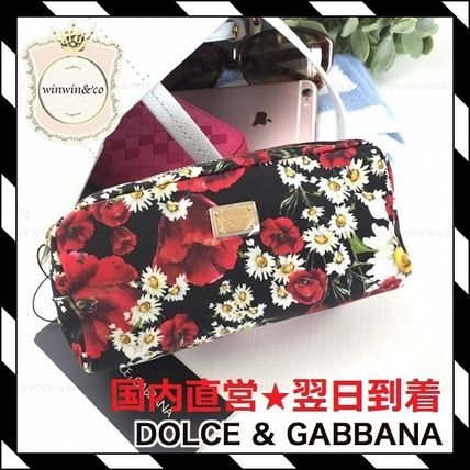 Dolce &gabibiana floral Pouch