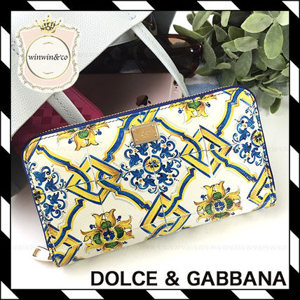 Dolce & Gabbana Leather Long Wallets