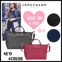 Longchamp LE PLIAGE NEO 2WAY Plain Boston & Duffles