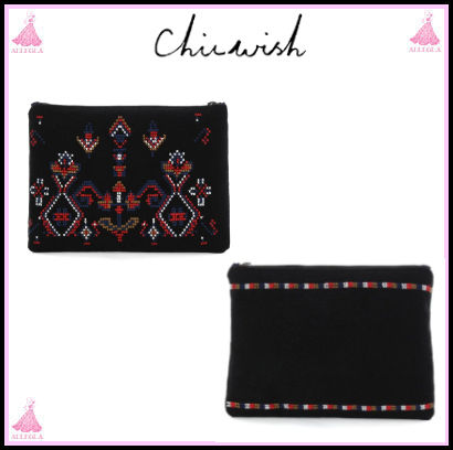 Casual Style Clutches