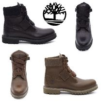 Timberland Plain Toe Mountain Boots Street Style Collaboration Plain