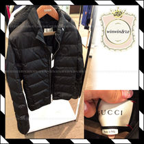 GUCCI Plain Down Jackets