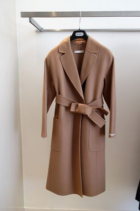 ALATO S MAX MARA wool 100% thick coat
