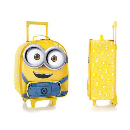 Minion's cute soft luggage