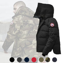 CANADA GOOSE MACMILLAN Short Camouflage Street Style Plain Down Jackets