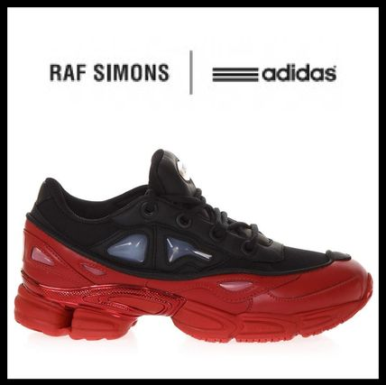 RAF SIMONS Collaboration Leather Sneakers