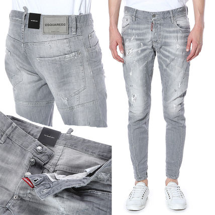 D SQUARED2 Denim Street Style Plain Jeans & Denim