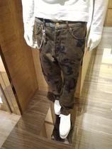 Louis Vuitton Camouflage Street Style Cotton Jeans & Denim