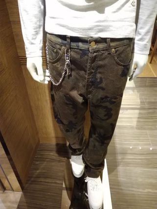 Louis Vuitton More Jeans Camouflage Street Style Cotton Jeans 3