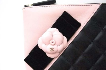 CHANEL Clutches Lambskin Bag in Bag Elegant Style Clutches 2