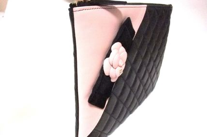 CHANEL Clutches Lambskin Bag in Bag Elegant Style Clutches 3