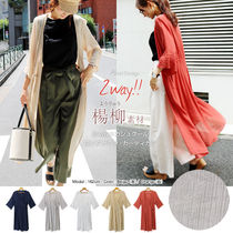 Cropped Long Gowns Cardigans