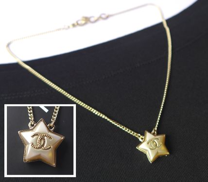 Pearl Star Necklace Costume Jewelry