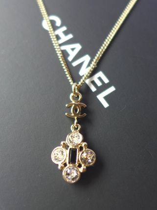 CC Crystal Necklace Costume Jewelry