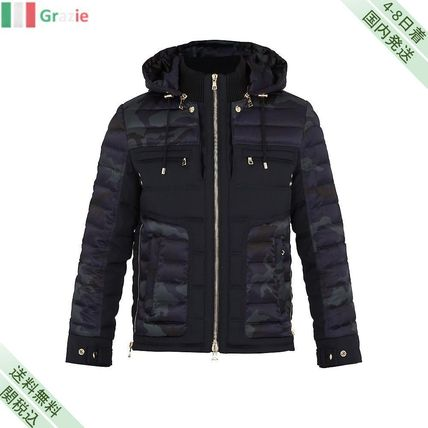 Just wear Camouflage quilted down coat