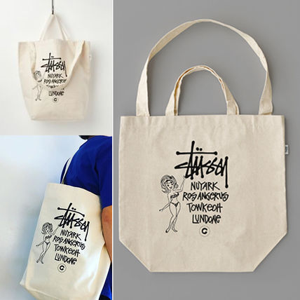 Collaboration GS Canvas Art Tote SS Ver. Cities Girl