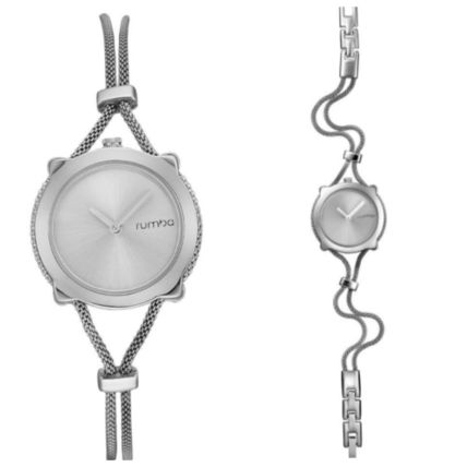 Chain Round Jewelry Watches Stainless Elegant Style
