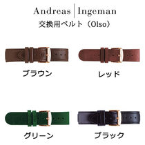 Andreas Ingeman Leather Analog Watches