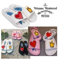 Vivienne Westwood Collaboration Shower Shoes Flat Sandals