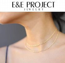 E and E PROJECT Silver 14K Gold Fine