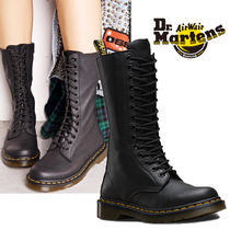 Dr Martens Lace-up Plain Leather Lace-up Boots