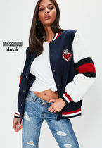Missguided Casual Style Street Style Varsity Jackets