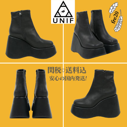 Only VICE BOOT thickness bottom boots black