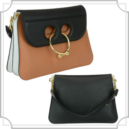 MEDIUM BAG Tan black