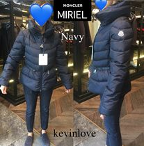 MONCLER MIRIEL Short Casual Style Plain Down Jackets
