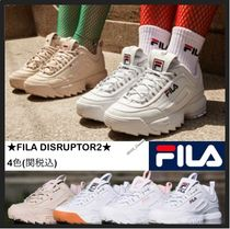 FILA Casual Style Low-Top Sneakers
