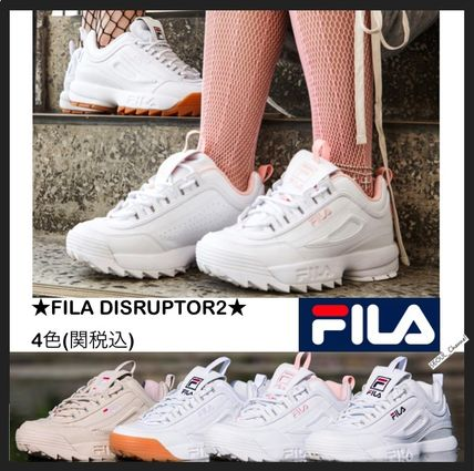 fila disruptor 2 pink. fila casual style low-top sneakers fila disruptor 2 pink