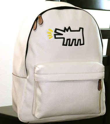 Collaboration KEITH HARING x CHARLES backpack
