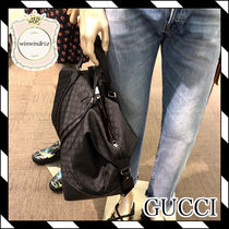 GUCCI Monogram 2WAY Elegant Style Handbags