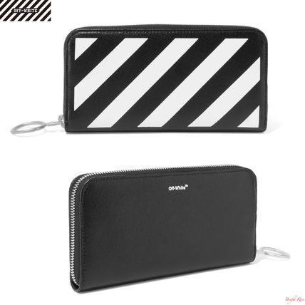 Textured Leather Continental long wallet