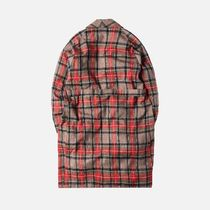 FEAR OF GOD Other Plaid Patterns Street Style Long Chester Coats