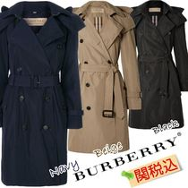 Burberry Plain Office Style Trench Coats