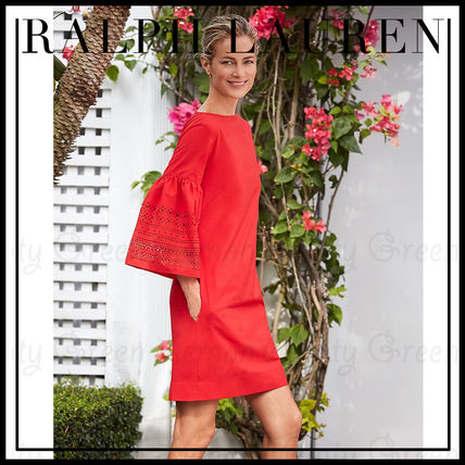 Ralph Lauren [SALE] Lauren Ralph Lauren Bell Sleeve Dress