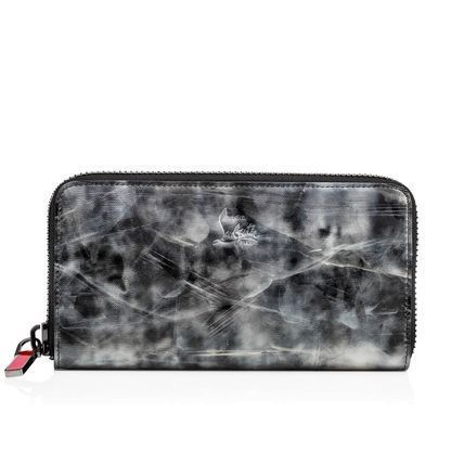 Christian Louboutin Panettone  Camouflage Calfskin Long Wallets
