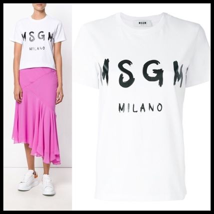 MSGM Casual Style T-Shirts